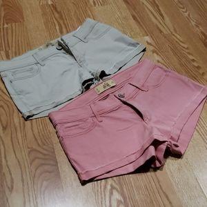 Hollister Shorts (Lot)